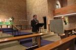 Pastor Gaertner with Opening Devotion